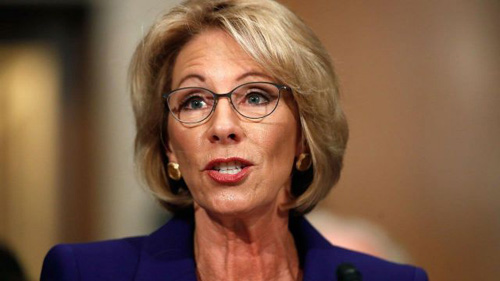Betsy DeVos: If States Discriminate Against LGBTQ Students, It's Cool By Me
