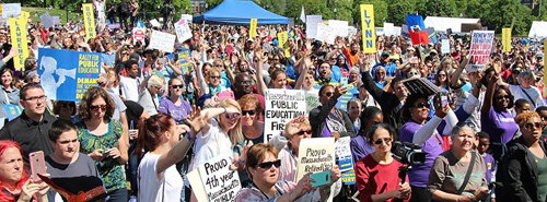 Boston Rally for Public Education