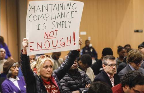 Teachers, students, parents slam proposed BPS budget